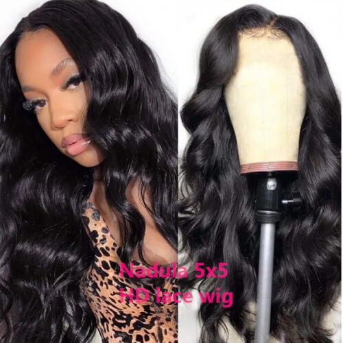 Hd Lace Wigs Body Wave Hair 5x5