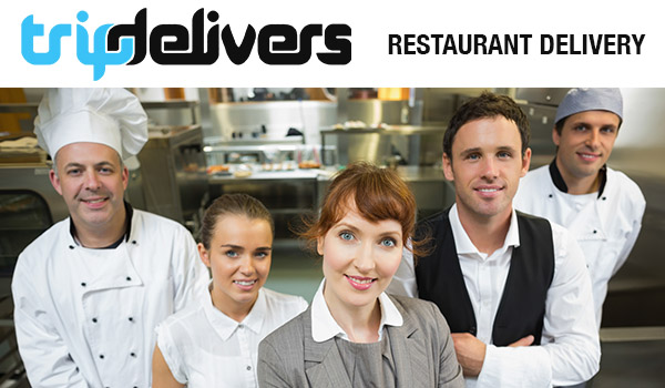 Restaurant Delivery Service, TripDelivers